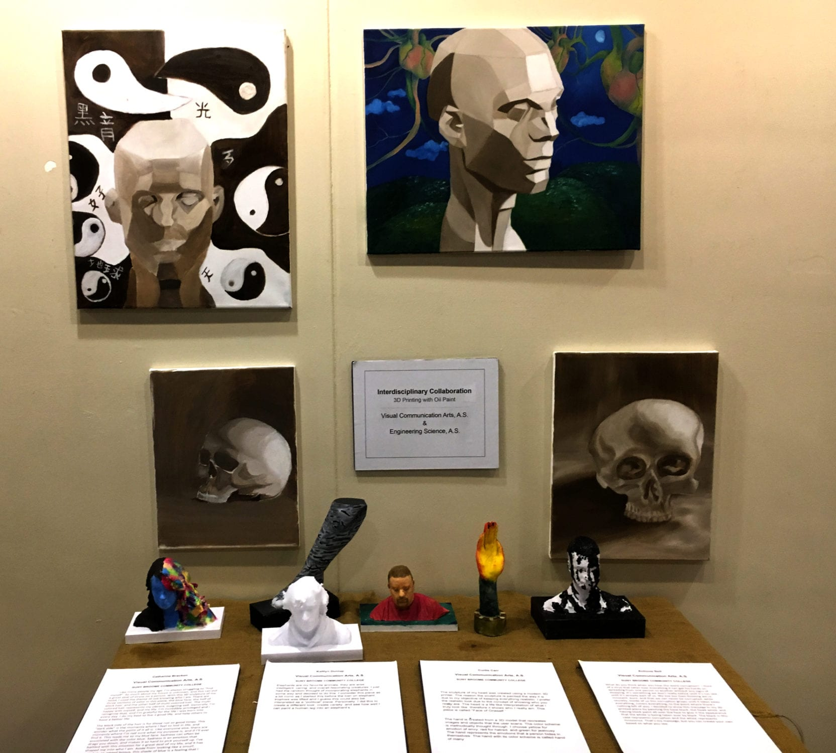Annual Student Art Exhibition Jan. 4-11 in the Gallery