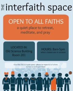 interfaith space flyer
