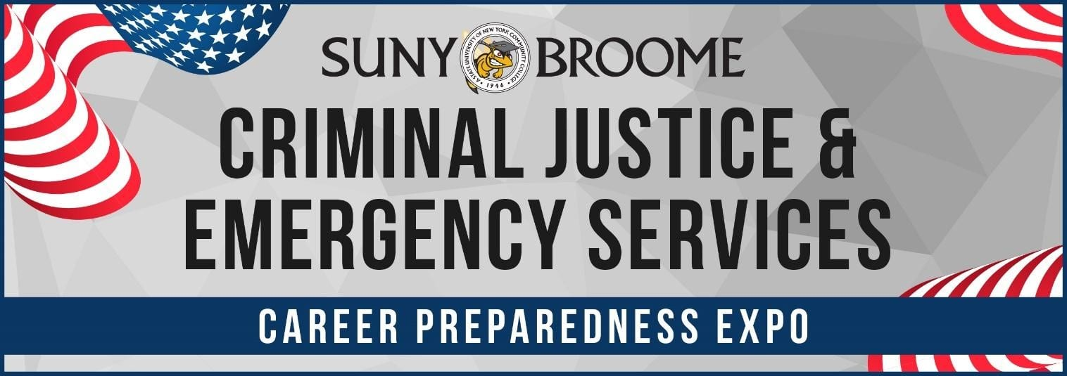 Criminal Justice & Emergency Services Career Preparedness Expo on Sept 19