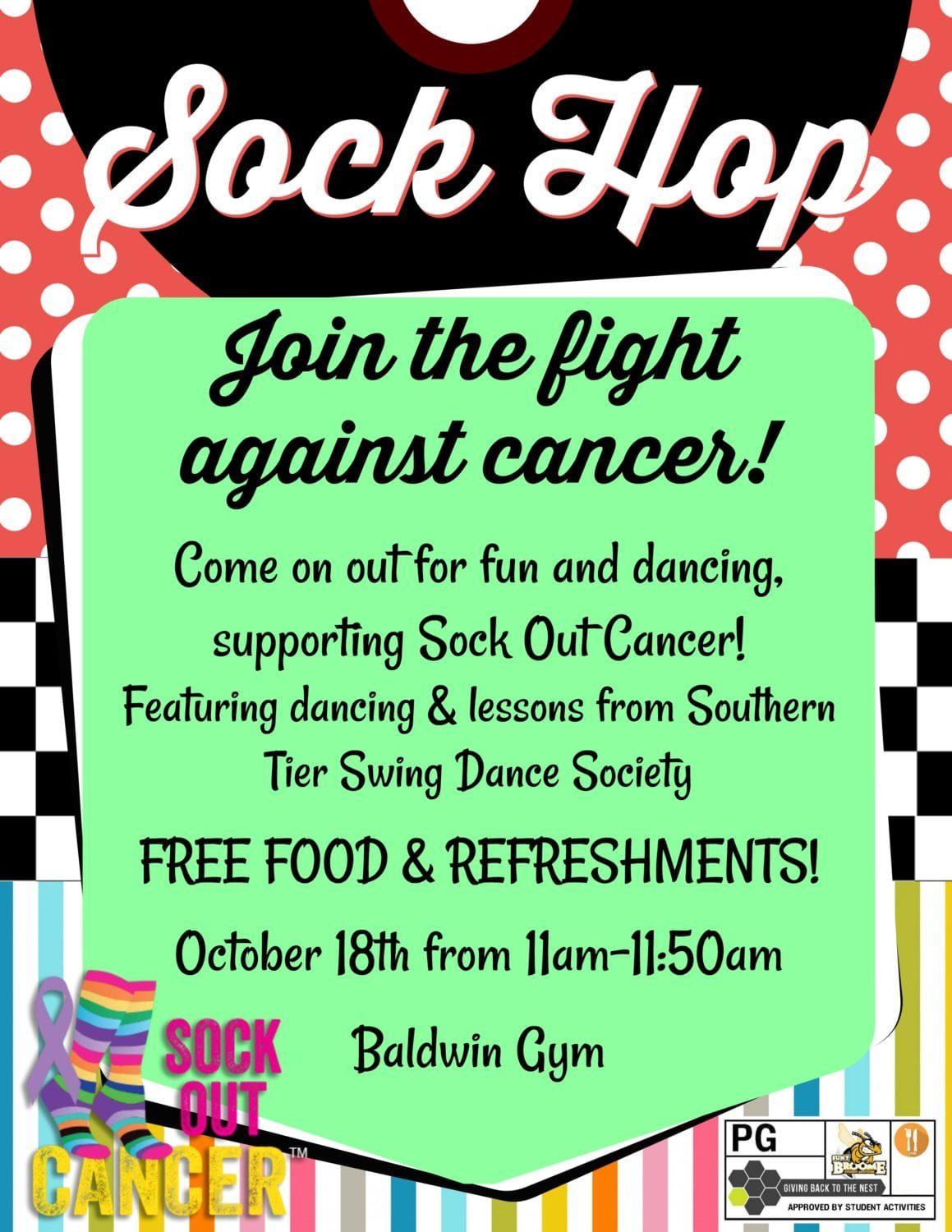 Get your saddle shoes: Sock Hop to fight cancer on Oct. 18