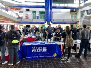 Scenes from the fifth annual Criminal Justice and Emergency Services Career Preparedness Expo