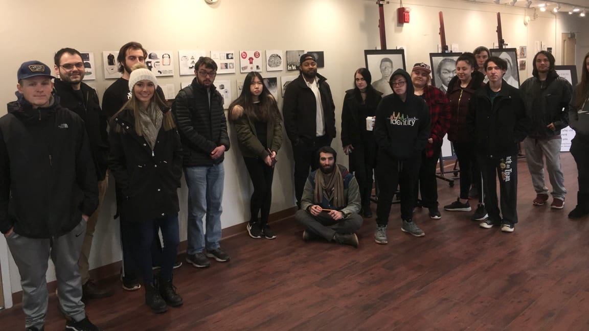 In the Gallery: Closing reception for 2018 Student Art Exhibition on Dec. 10