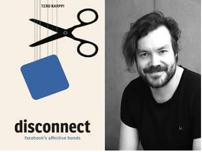Join us from 12 to 1:15 p.m. Tuesday, April 23, 2019, in Titchener 102 for a video-conference with University of Toronto Professor Tero Karppi to discuss his recent book Disconnect: Facebook's Affective Bonds.