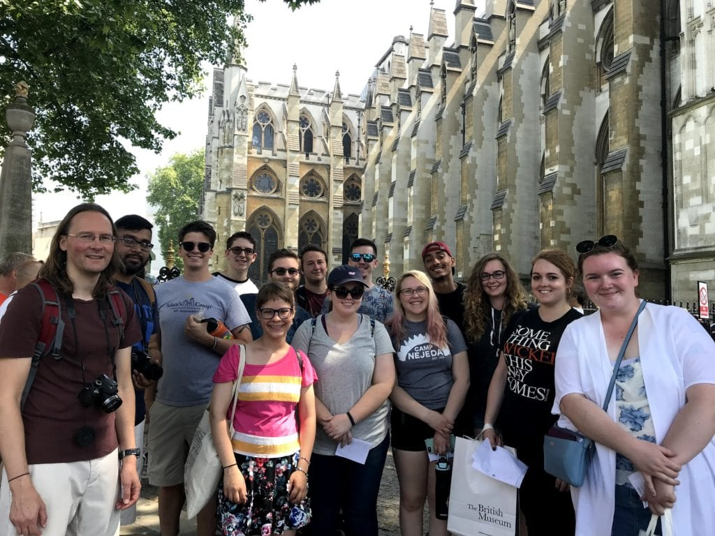 The BIO 293: Darwin, Evolution and the Victorians class is setting sail for the port of London (well, actually, they are flying into Heathrow) to begin their evolutionary adventure in the United Kingdom and Belgium!