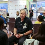 President Drumm connects with Baltimore teens as part of national event