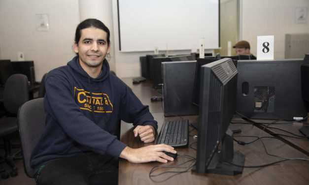 Thinking machines: Ali Daho programs his future in Computer Science