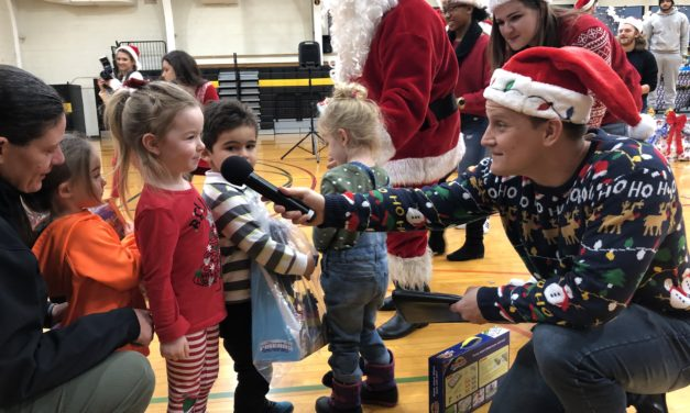 Making the holidays even happier: SUNY Broome hosts the annual Giving of the Toys