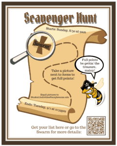 Scavenger Hunt for Students Fall 2020 @ Broome Community College