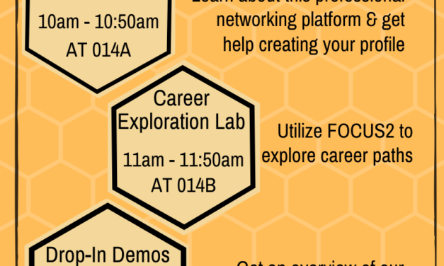 Career Week continues with Workshop Wednesday