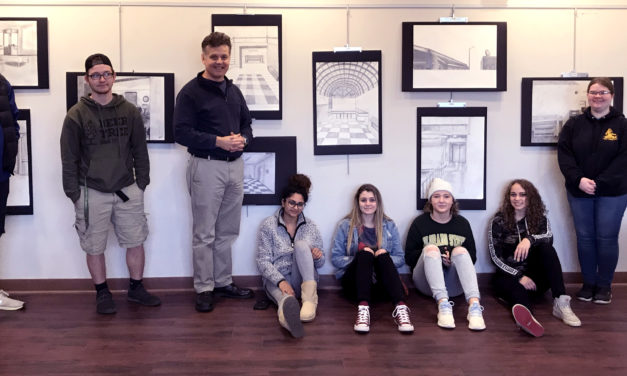 See the Art and Design Department 2019 Student Exhibition at the Gallery