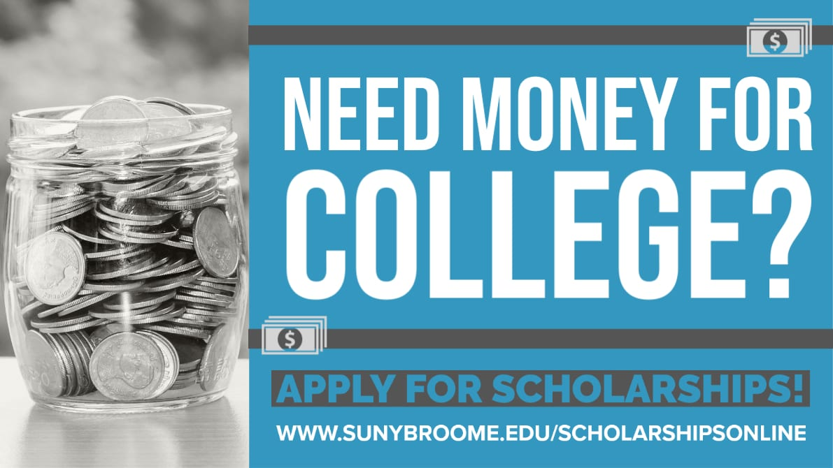 Need Money for College? Apply for Scholarships!